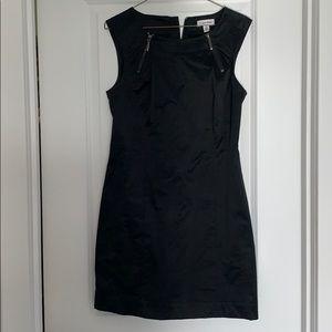 Calvin Klein Black Dress with Zipper